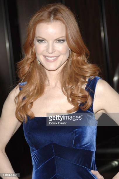 Marcia Cross during 32nd Annual Crystal Ball at Beverly Hilton Hotel in Beverly Hills California United States