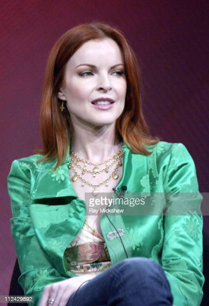 Marcia Cross during ABC 2005 Winter Press Tour 'Desperate Housewives' at Universal Hilton in Universal City California United States