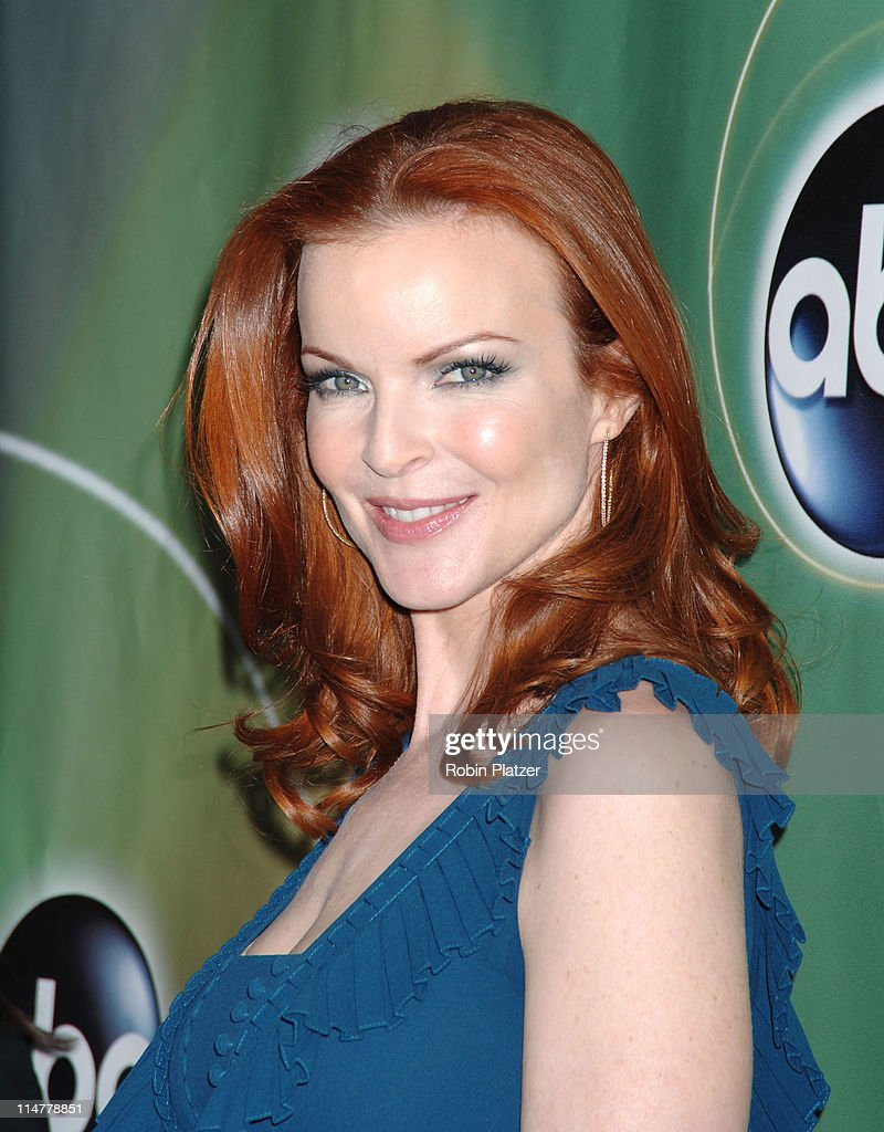 Marcia Cross during ABC Upfront 2006/2007 - Arrivals at Lincoln Center in New York City, New York, United States.