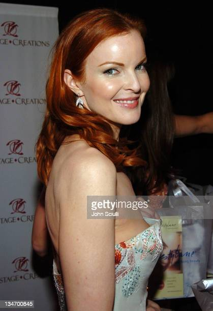 Marcia Cross during Backstage Creations 2005 Screen Actors Guild Awards The Talent Retreat Day 2 at Shrine Auditorium in Los Angeles California...