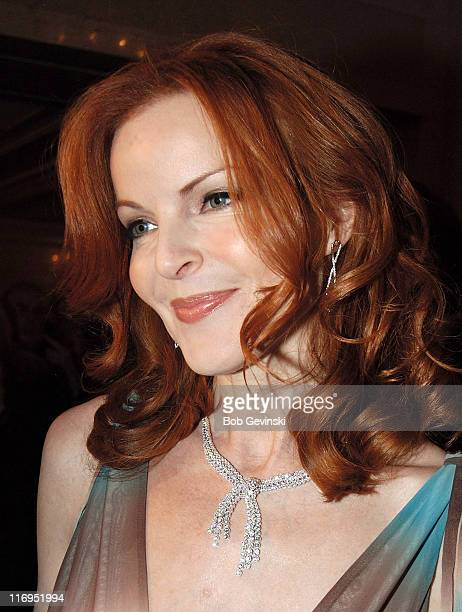 Marcia Cross during Boston Common Magazine Party with Marcia Cross November 28 2005 at The Wang Center in Boston Massachusetts United States