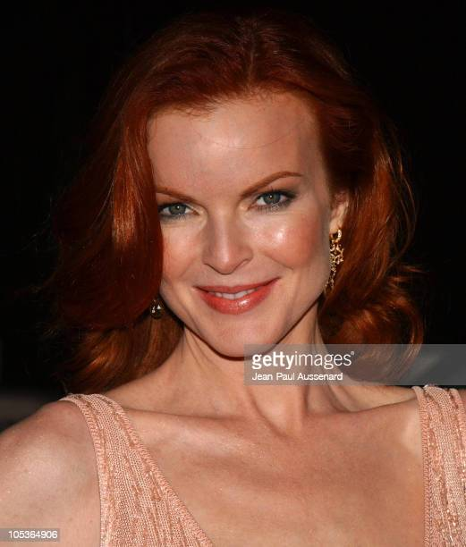 Marcia Cross during 'Desperate Housewives' Series Premiere Party Arrivals at Barney's in Beverly Hills California United States