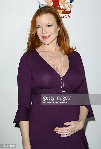 Marcia Cross during Modern Mom Mingle Party Arrivals at Skybar at Mondrian in West Hollywood California United States