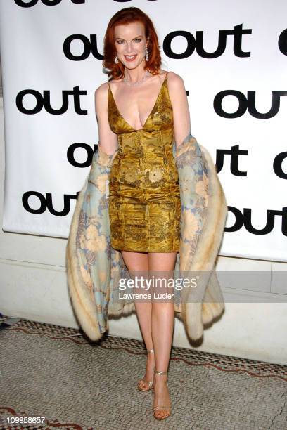Marcia Cross during Out Magazine Celebrates Its 10th Anniversary at Capitale in New York City New York United States