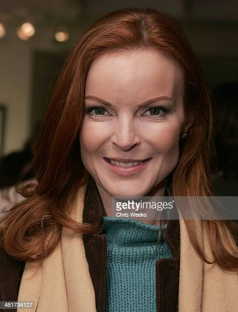 Marcia Cross during Photographer's Gallery Presents Slim Aarons Curated by Kate Spade at Fred Segal Cafe in West Hollywood California United States