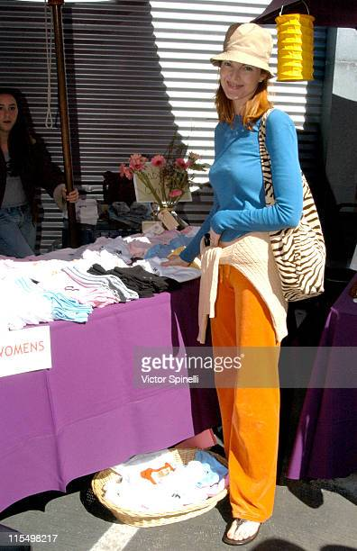 Marcia Cross during Second Annual 'Step Up for Yoga Health' Charity Festival at Bergamot Station in Santa Monica California United States