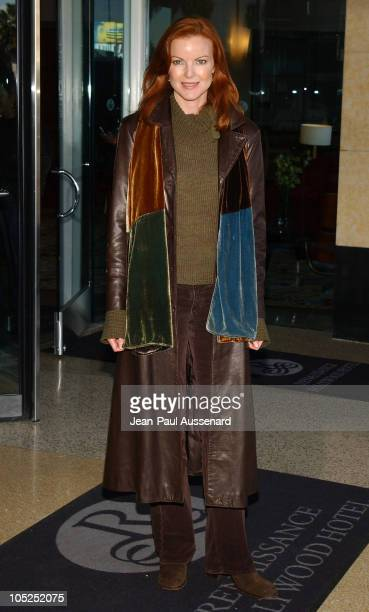 Marcia Cross during The WB Networks 2004 TCA Arrivals at Renaissance Hotel in Hollywood California United States