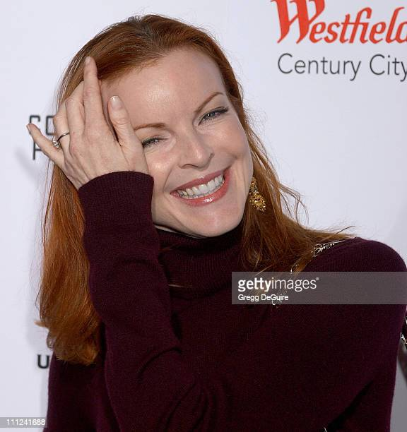 Marcia Cross during Universal Pictures' 'The Producers' World Premiere Arrivals at Westfield Century City in Century City California United States