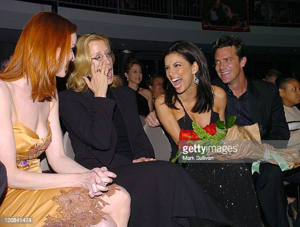 Marcia Cross Felicity Huffman Eva Longoria and Butch Klein