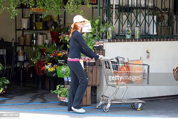 Marcia Cross is seen shopping on July 11 2012 in Los Angeles California