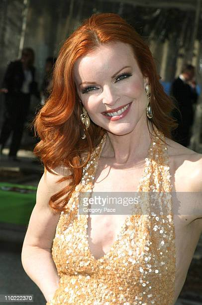 Marcia Cross of Desperate Housewives during 2005/2006 ABC UpFronts at Lincoln Center in New York City New York United States