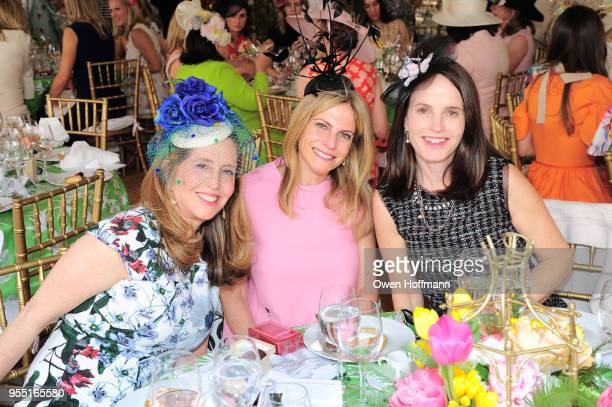 Marcia Dunn Allison Berg and Liz Weinstein attend 36th Annual Frederick Law Olmsted Awards Luncheon Central Park Conservancy at The Conservatory...