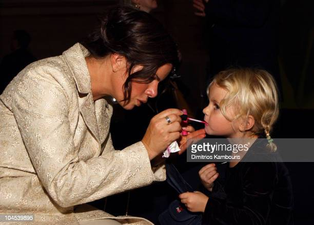 Marcia Gay Harden and daughter Eulala during Tiffany & Co. Honors Bette Midler, Marcia Gay Harden, Candace Bushnell, Dan Marino and Ed Schlossberg to...