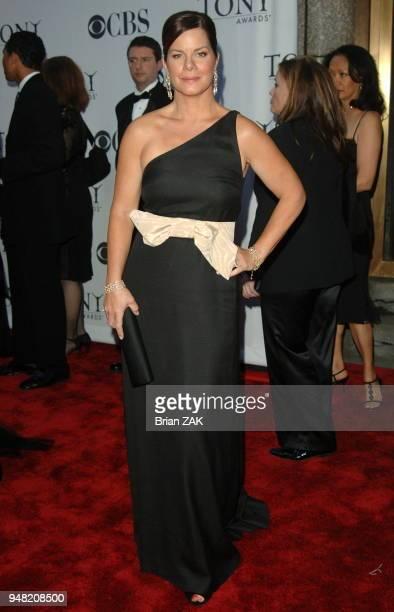 Marcia Gay Harden arrives to the 60th Annual Tony Awards held at Radio City Music Hall New York City BRIAN ZAK