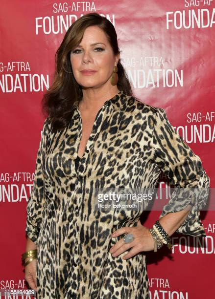 Marcia Gay Harden at SAGAFTRA Foundation Conversations with Love You To Death at SAGAFTRA Foundation Screening Room on June 10 2019 in Los Angeles...
