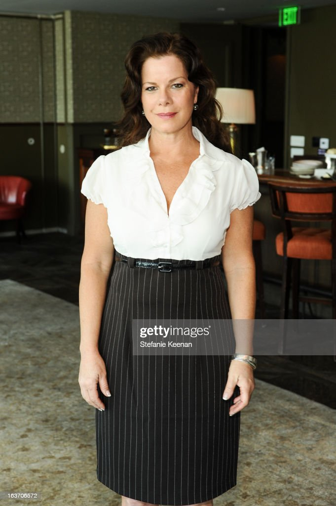 Marcia Gay Harden attend L.K. Bennett Tea Luncheon on March 14, 2013 in West Hollywood, California.