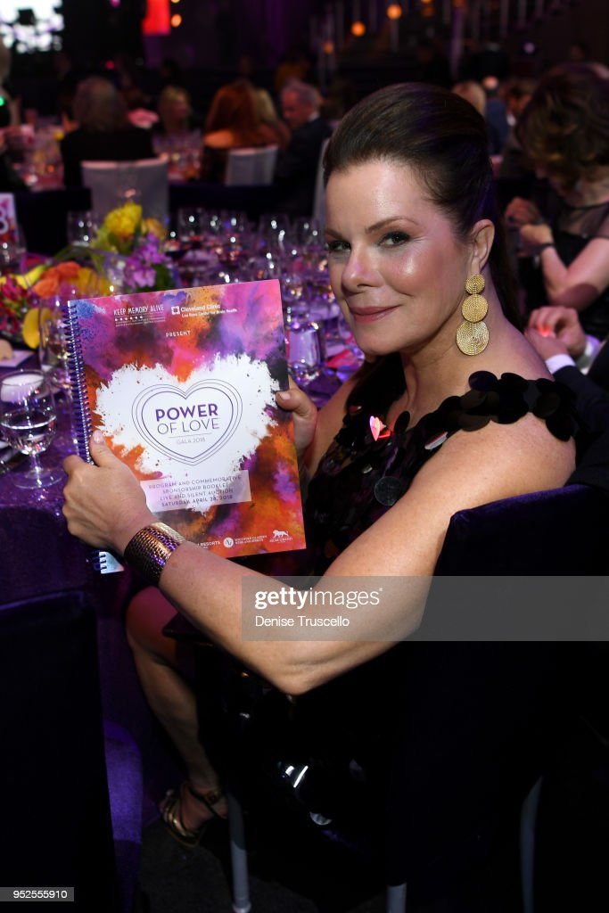 Marcia Gay Harden attends the 22nd annual Keep Memory Alive 'Power of Love Gala' benefit for the Cleveland Clinic Lou Ruvo Center for Brain Health at MGM Grand Garden Arena on April 28, 2018 in Las Vegas, Nevada.
