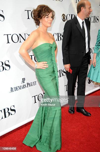 Marcia Gay Harden attends the 63rd Annual Tony Awards at Radio City Music Hall on June 7 2009 in New York City