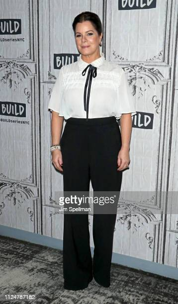 Marcia Gay Harden attends the Build Series to discuss Love You to Death at Build Studio on January 25 2019 in New York City