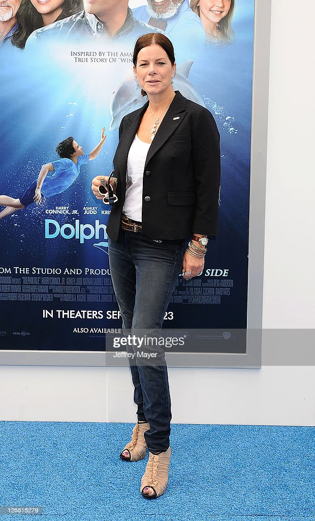 Marcia Gay Harden attends the 'Dolphin Tale' Los Angeles Premiere at Mann Village Theatre on September 17, 2011 in Westwood, California.