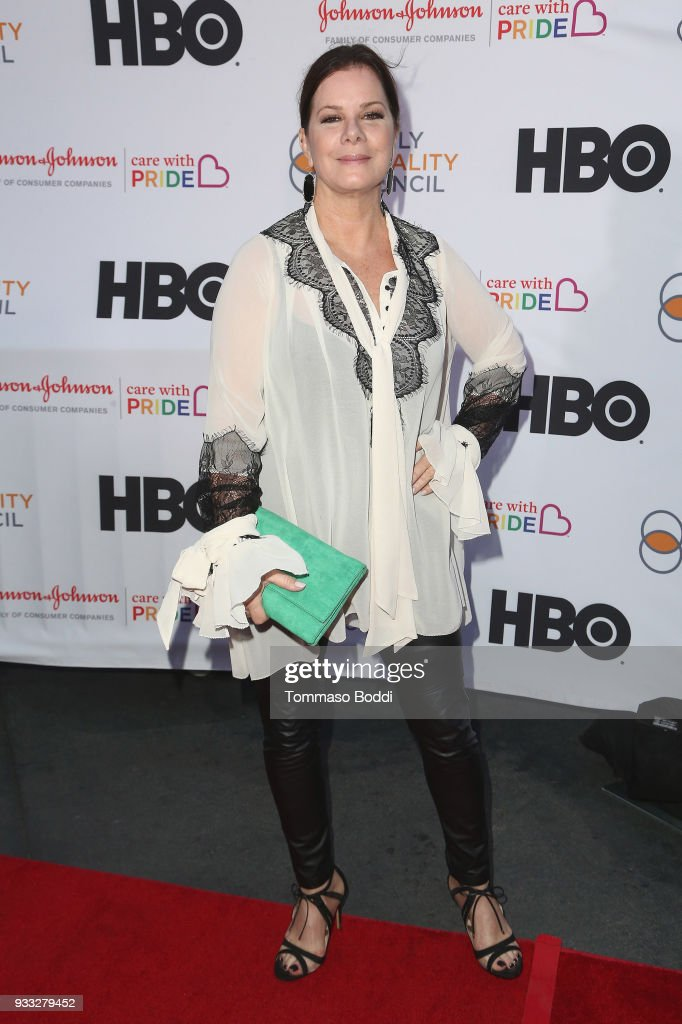 Marcia Gay Harden attends the Family Equality Council's Annual Impact Awards at The Globe Theatre on March 17, 2018 in Universal City, California.