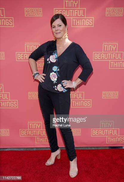 Marcia Gay Harden attends the opening night performance of Tiny Beautiful Things at Pasadena Playhouse on April 14 2019 in Pasadena California