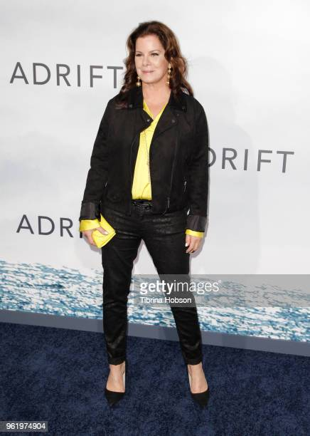 Marcia Gay Harden attends the premiere of 'Adrift' at Regal LA Live Stadium 14 on May 23 2018 in Los Angeles California