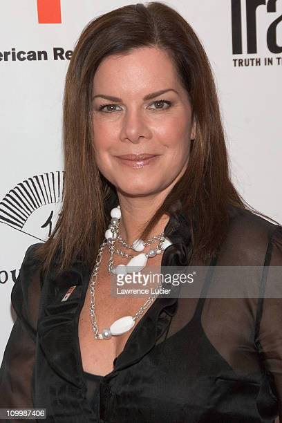 Marcia Gay Harden during 2006 Conde Nast Traveler Hot List Party at Buddha Bar in New York City New York United States