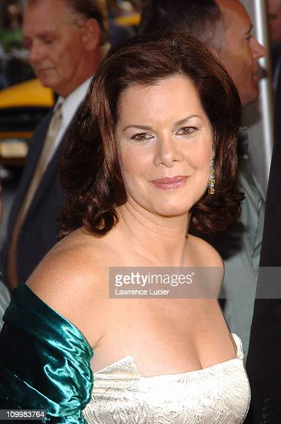Marcia Gay Harden during Bad News Bears New York City Premiere Arrivals at Ziegfeld Theatre in New York City New York United States