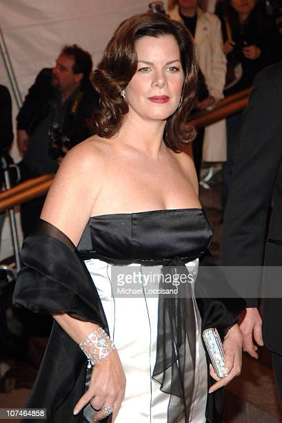 Marcia Gay Harden during Chanel Costume Institute Gala Opening at the Metropolitan Museum of Art Arrivals at Metropolitan Museum of Art in New York...