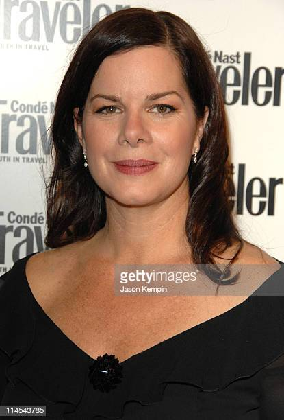 Marcia Gay Harden during Conde Nast Traveler 19th Annual Readers Choice Awards October 16 2006 at American Museum of Natural History in New York City...