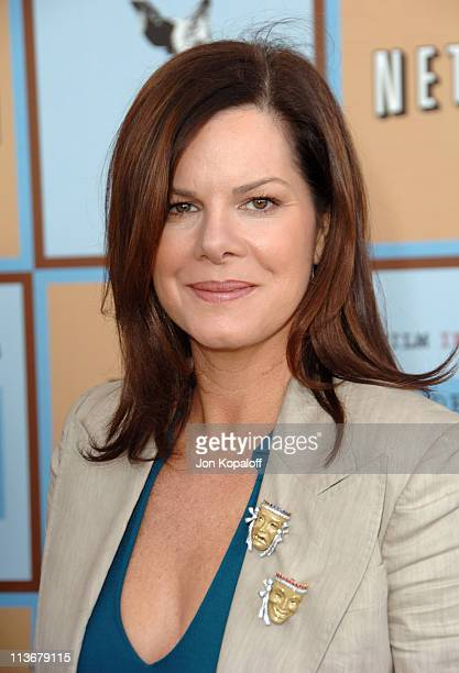 Marcia Gay Harden during Film Independent's 2006 Independent Spirit Awards Arrivals in Santa Monica California United States