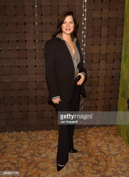 Marcia Gay Harden during In Style Magazine and the DIC Host Luncheon to Celebrate the 2005 Awards Season at Beverly Hills Hotel in Beverly Hills...