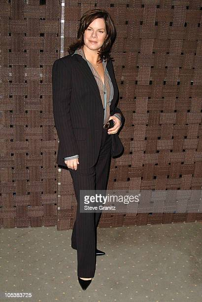 Marcia Gay Harden during InStyle Magazine and the DIC Host Luncheon to Celebrate 2005 Awards Season at Beverly Hills Hotel in Beverly Hills...