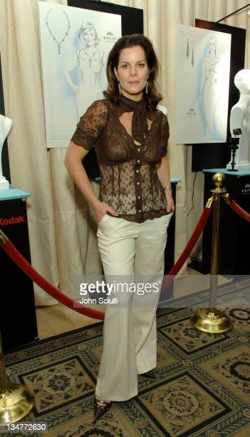 Marcia Gay Harden during Kwiat/Kodak Oscar Suite Cocktail Party at Four Seasons Wetherly Suite in Beverly Hills CA United States