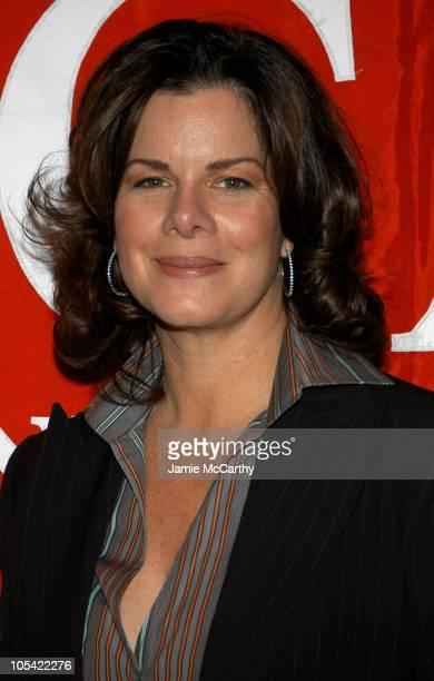 Marcia Gay Harden during Marcia Gay Harden Hosts The West Side YMCA's 2005 Community Spirit Awards Dinner at Mandarin Oriental Hotel in New York City...