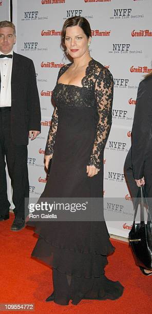 Marcia Gay Harden during Opening of the 41st New York Film Festival Sponsored by Grand Marnier 'Mystic River' Premiere at Avery Fisher Hall Lincoln...
