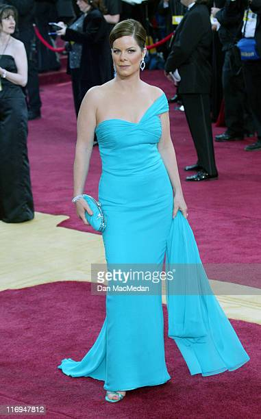 Marcia Gay Harden during The 75th Annual Academy Awards Arrivals at The Kodak Theater in Hollywood California United States
