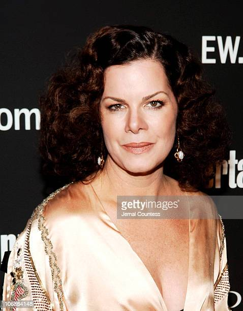 Marcia Gay Harden during The 78th Annual Academy Awards Entertainment Weekly New York Viewing Party Arrivals at Elaine's in New York City New York...