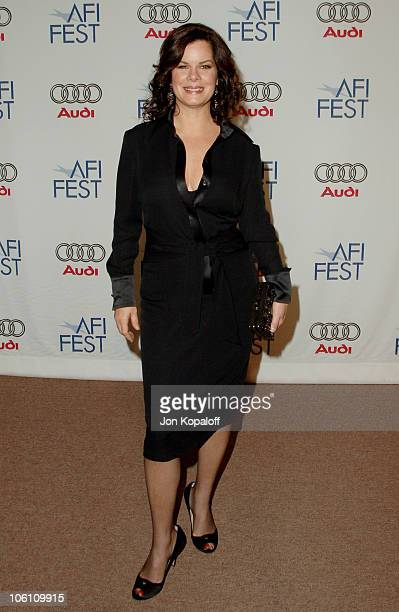Marcia Gay Harden during The Dead Girl Los Angeles Premiere Arrivals at ArcLight Rooftop Loft in Hollywood California United States