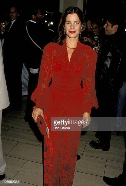Marcia Gay Harden during Thierry Mugler And Saks Fifth Avenue Host A Charity Evening To Benefit AmFar September 20 1993 at Saks Fifth Avenue in New...