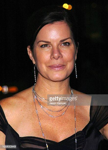 """Marcia Gay Harden during """"Three Days of Rain"""" Broadway Opening Night - After Party at Ciprianis 23rd Street in New York City, New York, United States."""