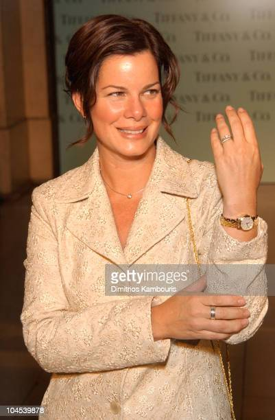Marcia Gay Harden during Tiffany & Co. Honors Bette Midler, Marcia Gay Harden, Candace Bushnell, Dan Marino and Ed Schlossberg to Celebrate the...