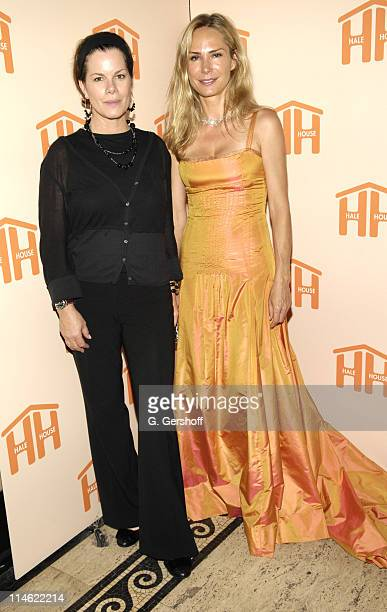 Marcia Gay Harden host and Valesca GuerrandHermes philanthropist and honoree