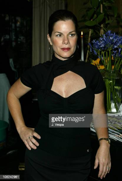 Marcia Gay Harden, make-up by Chanel during 2003 Toronto International Film Festival - Premiere Magazine Party at Pergo Della Piazza in Toronto,...