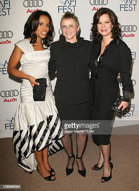 Marcia Gay Harden Mary Beth Hurt and Kerry Washington