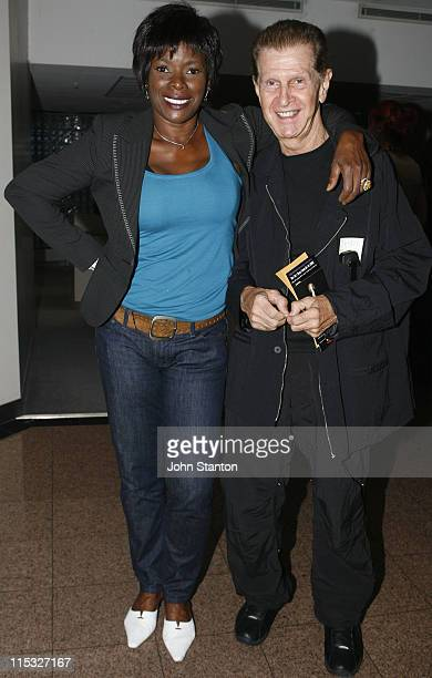 Marcia Hines and David Glyde during Hedwig and the Angry Inch Opening Night in Sydney February 1 2007 at Tom Mann Theatre in Sydney NSW Australia