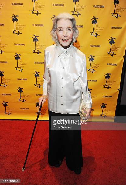 Marcia Hunt attends the Opening Night Gala of the LA Jewish Film Festival Honoring Carl Reiner on May 1 2014 in Los Angeles California