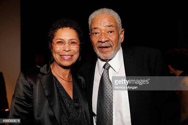 Marcia Johnson and Bill Withers attends The Congressional Black Caucus Spouses Event at The Newseum on September 24 2014 in Washington DC