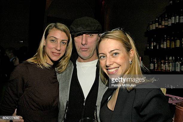 Marcia Kanakis, Michael Tammaro and Marina Greene attend Narciso Rodriguez Afterparty at Gramercy Park Hotel on February 6, 2007 in New York City.